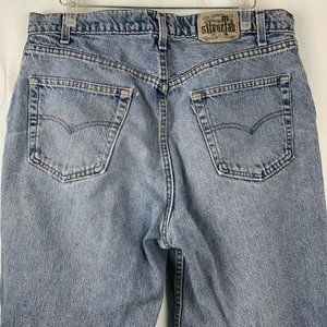Vintage Levis SilverTab Denim Jeans 38 32 Loose